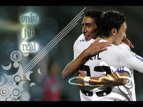 Ozil vs Dimaria -  Real Madrid best maker . 2013 new (HD)