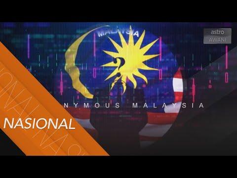 Keselamatan Siber | Penggodam Anonymous beri amaran kepada kerajaan Malaysia