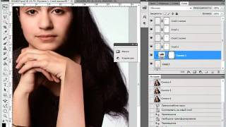 Удаляем волосы с кожи лица и рук в Photoshop CS5