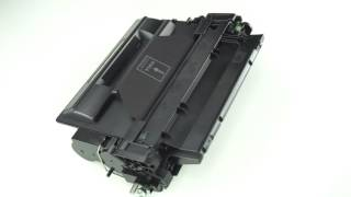 HP 55A (CE255A) Black 6,000 Page Yield Replacement LaserJet Toner Cartridge