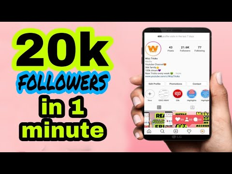 How To Get INSTAGRAM FOLLOWERS FAST | NO SURVEY
