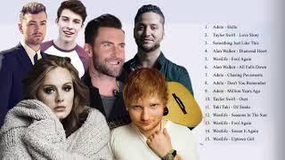 Pop 2019 Hits -  Taylor Swift, Ed Sheeran, Adele, Maroon 5, Shawn Mendes , Charlie Puth, Sam Smith