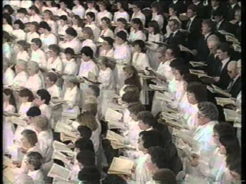 """ST. MATTHEW'S PASSION"" - FINAL SOLOS AND CHORUS 1986"