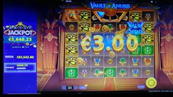 Online Casino Club - Vault of Anubis - 1 Hour abfuck without free Games