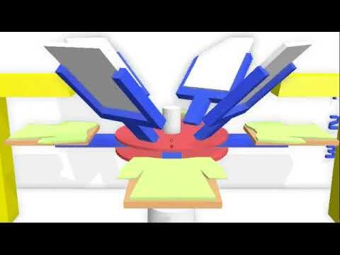 apa itu mesin sablon rotary