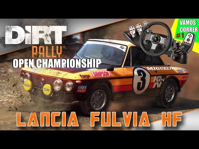 Dirt Rally + Logitech G27 1080p Novo Brinquedo