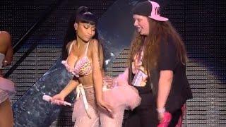 Nicki Minaj Lap Dance for Fan?!
