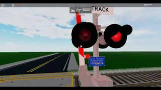 ROBLOX: Testing Railroad Crossings with My Friends in CD Game (Part 1)