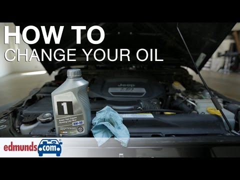 How To Change Your Oil And Cartridge Oil Filter