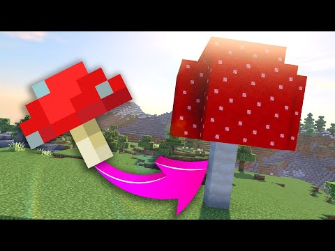 How To Spawn A Giant Mushroom In Minecraft