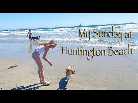 My Sunday At Huntington Beach