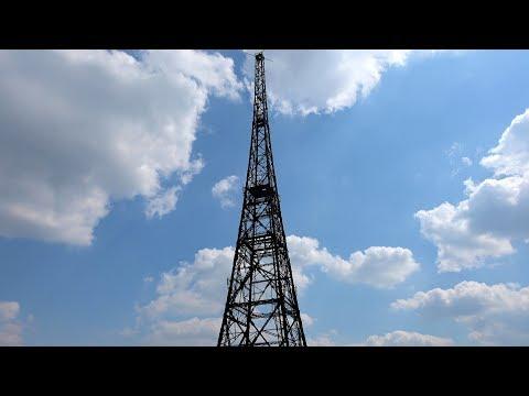 [4K] Radiostacja gliwicka (Gliwice Radio Tower, Sender Gleiwitz), Polska Poland (videoturysta.eu)