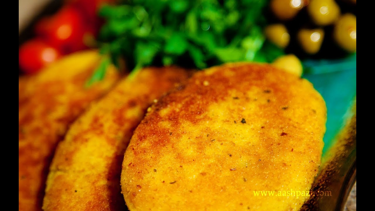potato patties ...