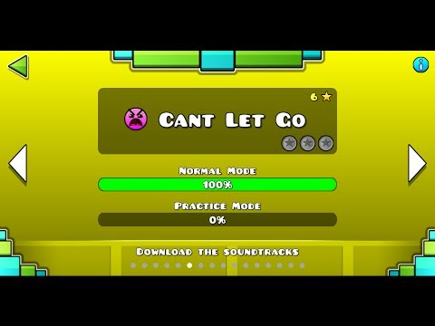 Geometry Dash | Level 6 - Cant Let Go