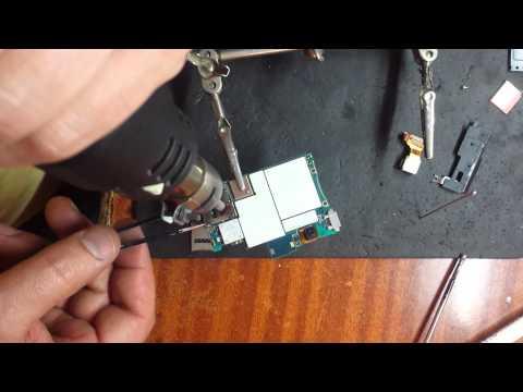 Sony Xperia Z (C6603) замена слота SIM карты