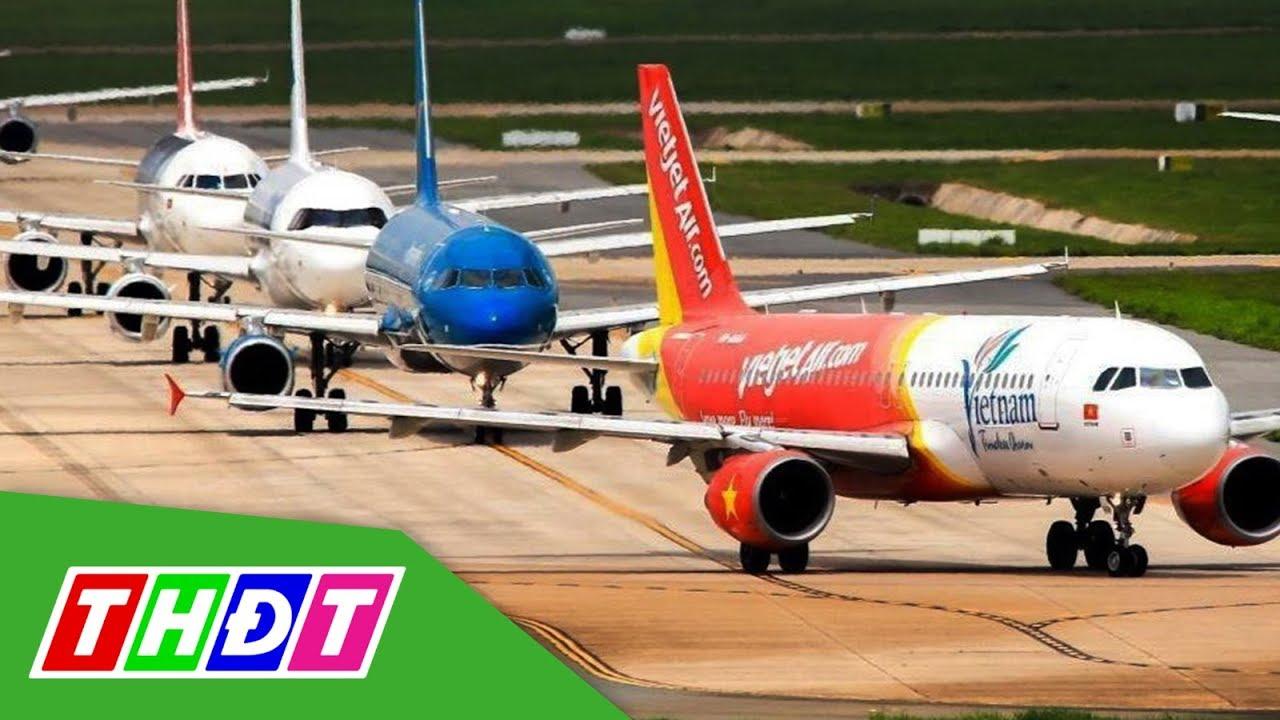 Giá vé máy bay giảm mạnh, khứ hồi TP.HCM – Hà Nội chưa tới 1 triệu đồng | THDT