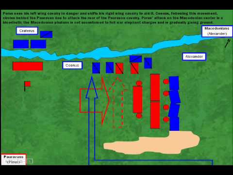 Battle of Hydaspes River, 326 BC