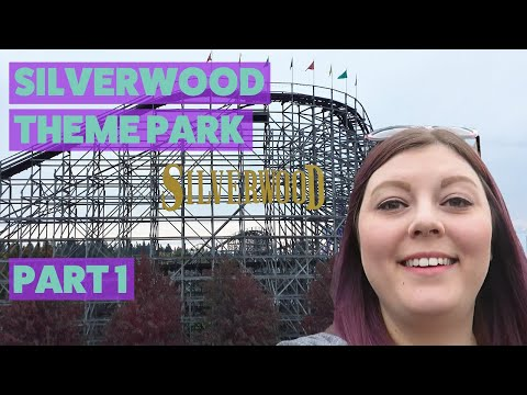 Silverwood Theme Park Vlog | Tremors, Timber Terror Wooden Roller Coaster, Corkscrew & More