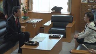 田中文科相ら新旧閣僚引き継ぎ 改造内閣が本格始動