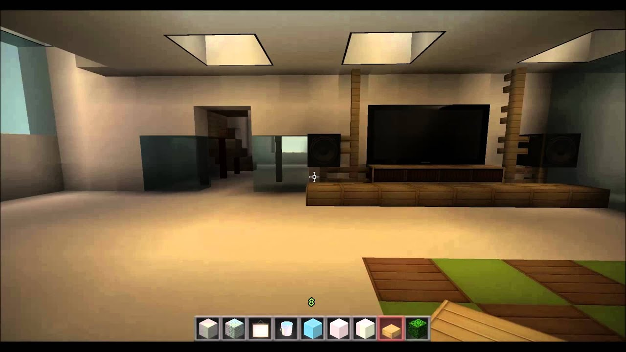 Minecraft Spielen Deutsch Minecraft Haus Bauen Mit Einrichtung Bild - Minecraft haus inneneinrichtung ideen