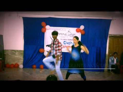 Bollywood Hip-hop on Husn hai Suhana ,duet Dance| (Vikrant&akshata )|@ndi summer celebration 2k17 ||