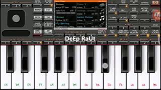 Sun Raha Hai na Tu | Mobile Piano Tutorial on ORG2018