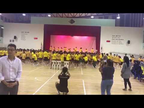 JVSS Sec One Orientation Mass Dance 2017