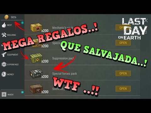 KEFIR DA MEGA REGALOS POR CUENTAS PERDIDAS!! | LAST DAY ON EARTH: SURVIVAL | [RidoMeyer]
