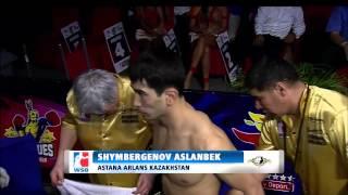 Caciques Venezuela v Astana Arlans Kazakshtan - World Series of Boxing Season V Highlights
