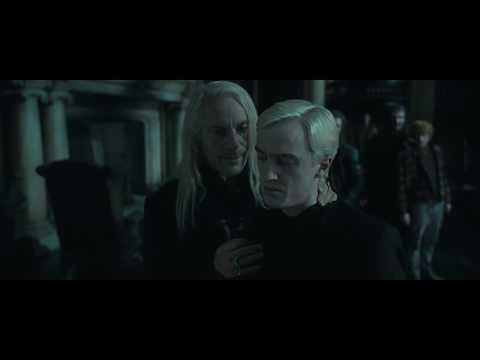 Гарри приводят в поместье Малфоев | Гарри Поттер и Дары Смерти. Часть 1 (2010)