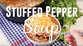 How to make: Stuffed Pepper Soup