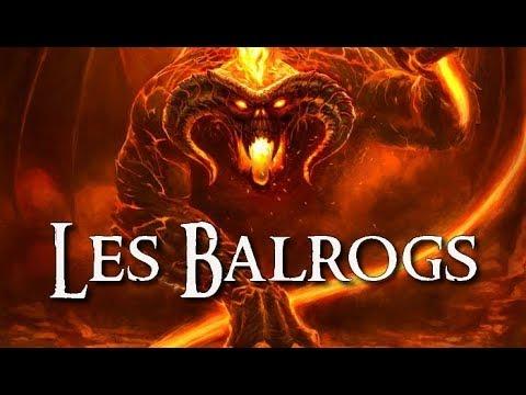 Les BALROGS | TOLKIEN
