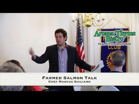 My Farmed Salmon Speech, Please Don't Eat It.