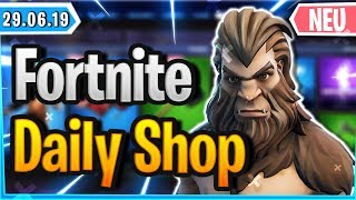 'NEW' BIGFOOT SKIN IS IN SHOP - Fortnite Daily Shop (29 juin 2019)