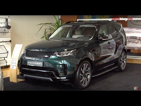 Prezentare statică: Noul Land Rover Discovery 5 a venit în Moldova