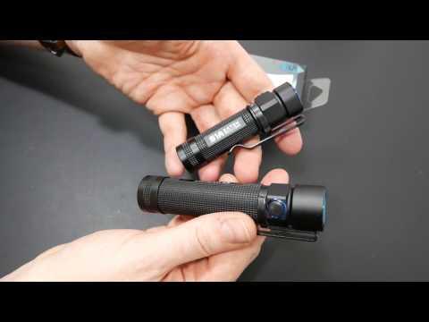 Olight S1A Baton   Cree XM-L2 LED   220 Lumen (14500=600L) EDC LED Taschenlampe Flashlight