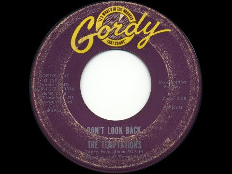 'Don't Look Back' by The Temptations