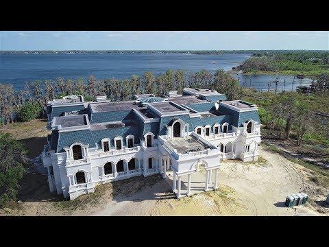 Versailles House Windermere Orlando Florida 2018 4K Aerial Video