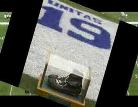 Johnny Unitas - Baltimore Colts Mania.com 1958 NFL Champion