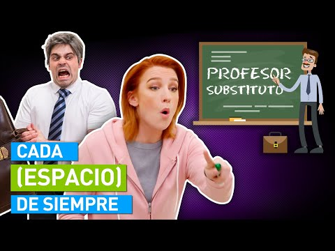CADA PROFESOR SUBSTITUTO DE SIEMPRE