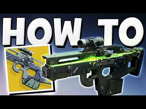 Destiny 2 - HOW TO GET MIDA MULTI TOOL EXOTIC & QUEST GUIDE !!