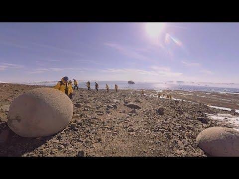 North Pole: Glaciologist Colin Souness talks Champ Island (360° VR)