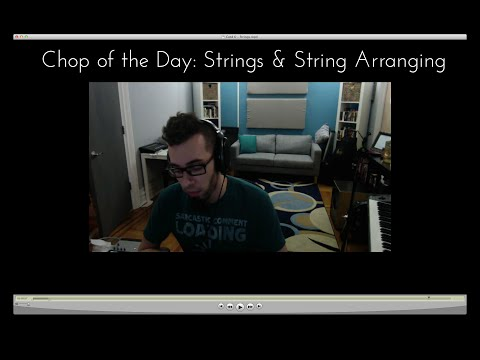CotD #6 Special Edition: Strings and String arranging!!