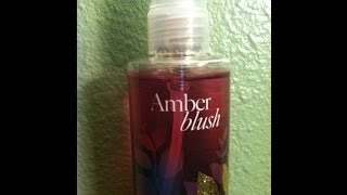 Review: Bath & Body Works Amber Blush Thumbnail