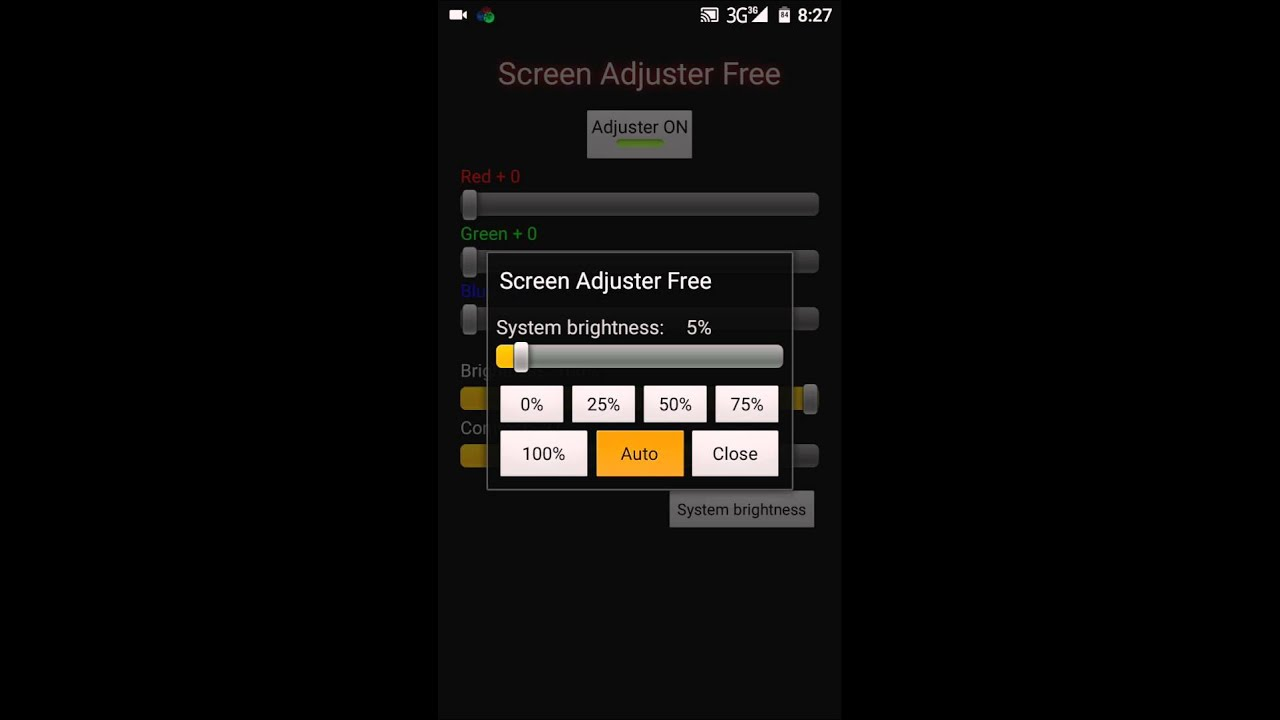 How to Adjust Android Phone Screen Contrast Brightness and Colors