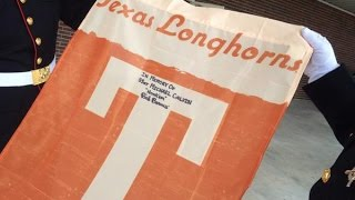 Surprise gift at funeral for Central Texas Marine and avid Longhorn fan