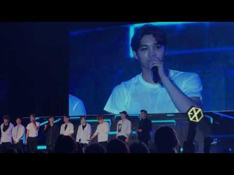 170506 EXO greeting @ Kpop Festival 2017 in Myanmar