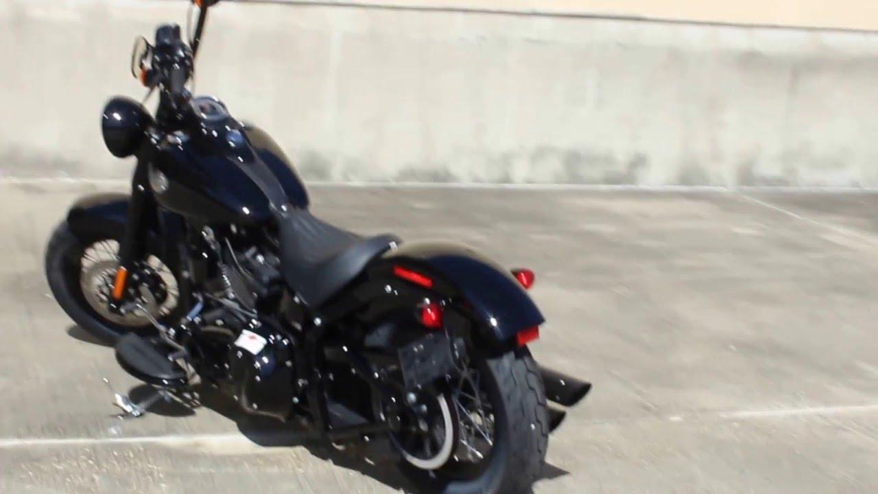 Harley Davidson Baton Rouge >> Custom 2016 Harley-Davidson Softail Slim S - YouTube