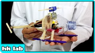 Let Me Show You How To Turn A Plastic Bottle into A Helicopter