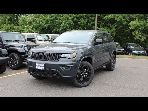 2018 Jeep Grand Cherokee Laredo E/Upland: In Depth First Perosn Look